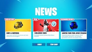 The New EXCLUSIVE SKIN BUNDLE in Fortnite! (NEW Double Helix Skin PACK)