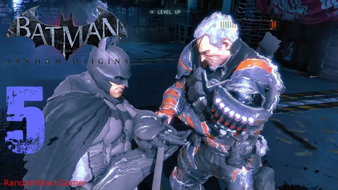 Batman Arkham Origins PC PHYSX 1080p Part 5 Vs Deathstroke Boss Fight