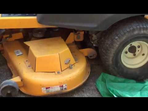 How To: Repair Cub Cadet RZT Deck Spindles