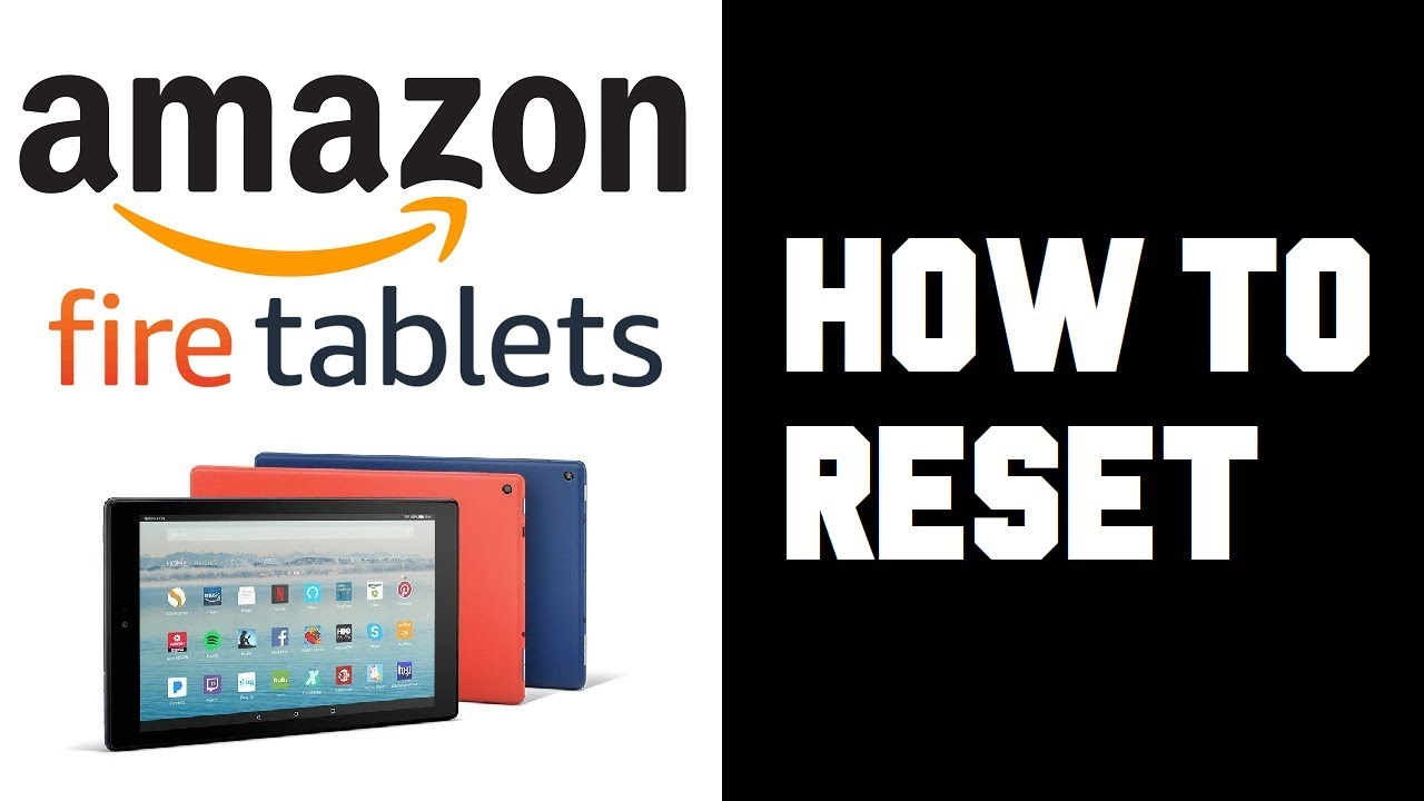 Amazon Fire Tablet How To Reset - How To Soft Reset or Hard Reset Fire HD  10 Tablet Guide