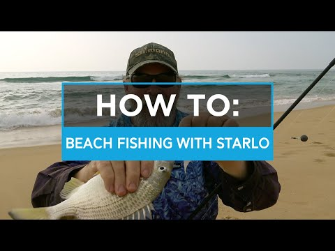 Beach Fishing Tips With Starlo - SHIMANO AUSTRALIA