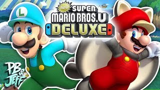 THE SHENANIGANS - New Super Mario Bros. U Deluxe Co-Op (Part 1)