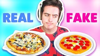 GUMMY vs REAL FOOD CHALLENGE!!