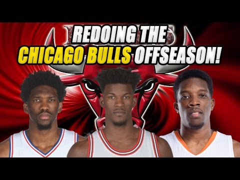 RE-DOING THE CHICAGO BULLS OFF SEASON!!! WE SIGNED SOME AMAZING PLAYERS!! CHAMPIONSHIP CONTENDERS?!
