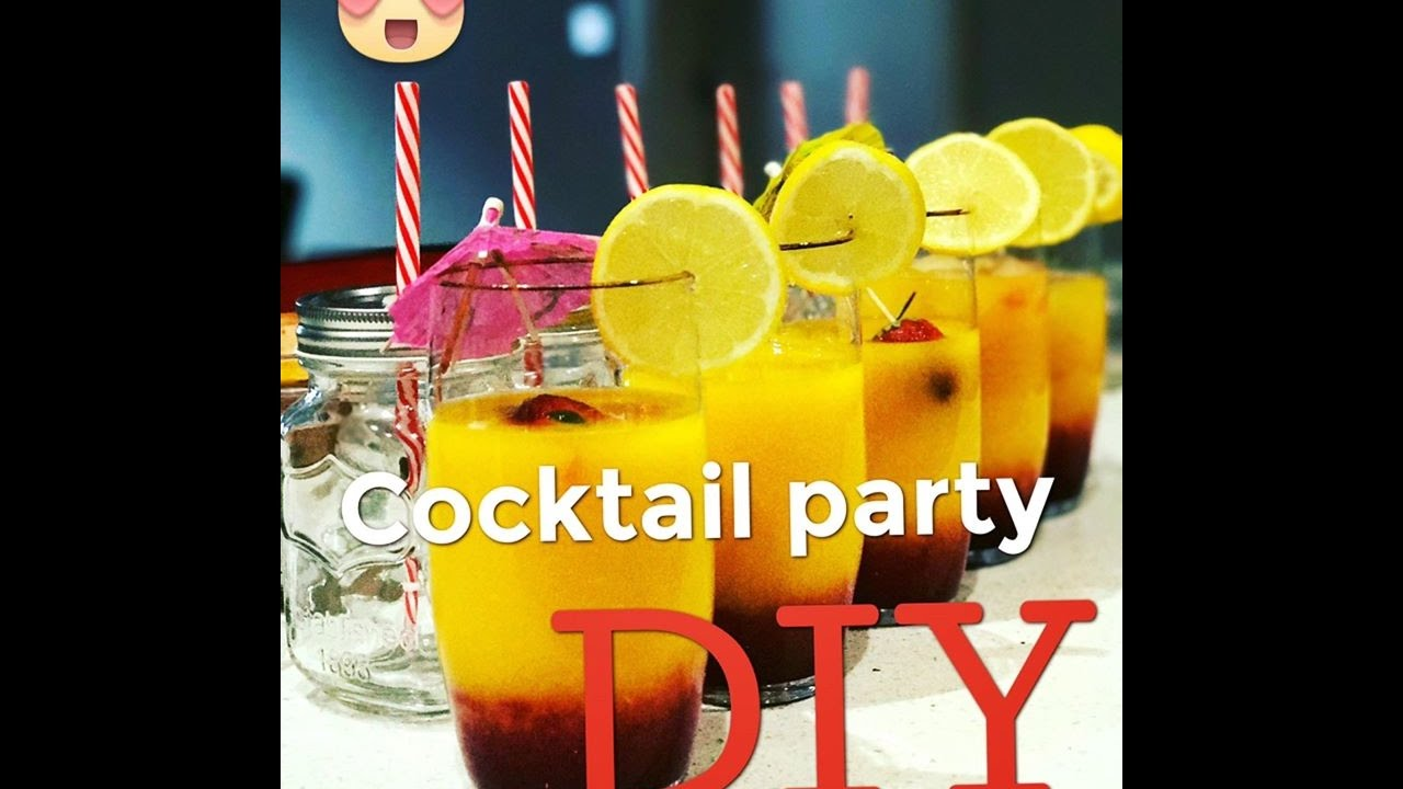 How to Be a Good Cocktail Party Host