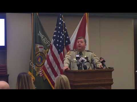 Etowah County Sheriff Todd Entrekin press conference on the use of jail inmate food funds