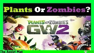 Plants vs Zombies Garden Warfare 2 Gameplay - Who Do You Prefer... Plants Or Zombies?