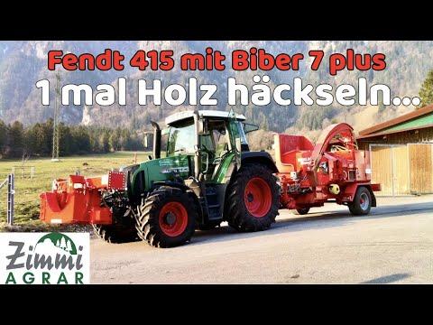 Fendt 415 Vario mit Eschlböck Biber 7 Plus