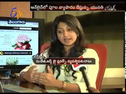 YUVA - Young Lady Doing Business In 184 Countries By Selling Flowers Online