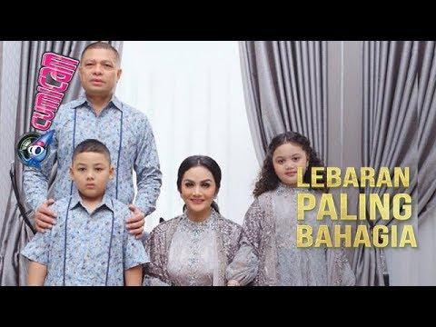 Kebahagiaan Krisdayanti Rayakan Lebaran Bersama Keluarga - Cumicam 06 Juni 2019