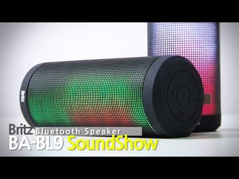 어디든 함께하는 LED 블루투스 무선 스피커 브리츠 BA-BL9 사운드쇼 SoundShow