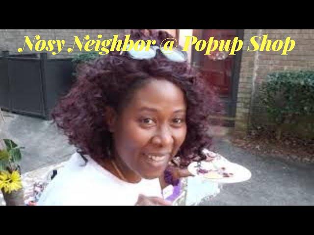 Jelly Crackers Merch - Nosy Neighbor @ Popup Shop