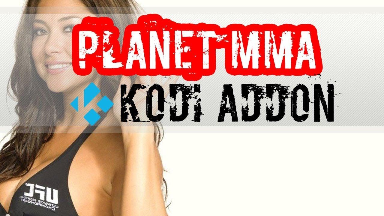 PLANET MMA - Watch UFC on Kodi