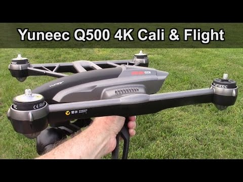 Yuneec Q500 4K Typhoon Mag Calibration or Compass Calibration and Maiden Flight