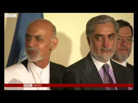 Afghanistan: Presidential candidates agree on full audit of votes