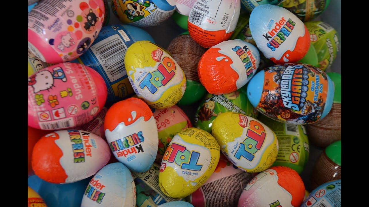 Kinder Surprise Zaini Nestle ToTo Chocolate Surprise Eggs Hot Wheels ...