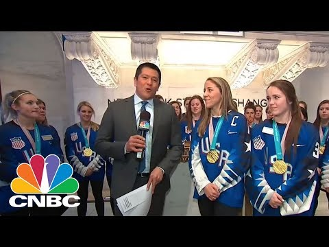 US Women's Hockey Team Trying To Take In The Win | CNBC