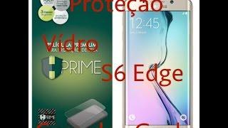 Pelicula protetora Galaxy S6 Edge:Cobre toda a tela! Casa dos Geeks PT-BR