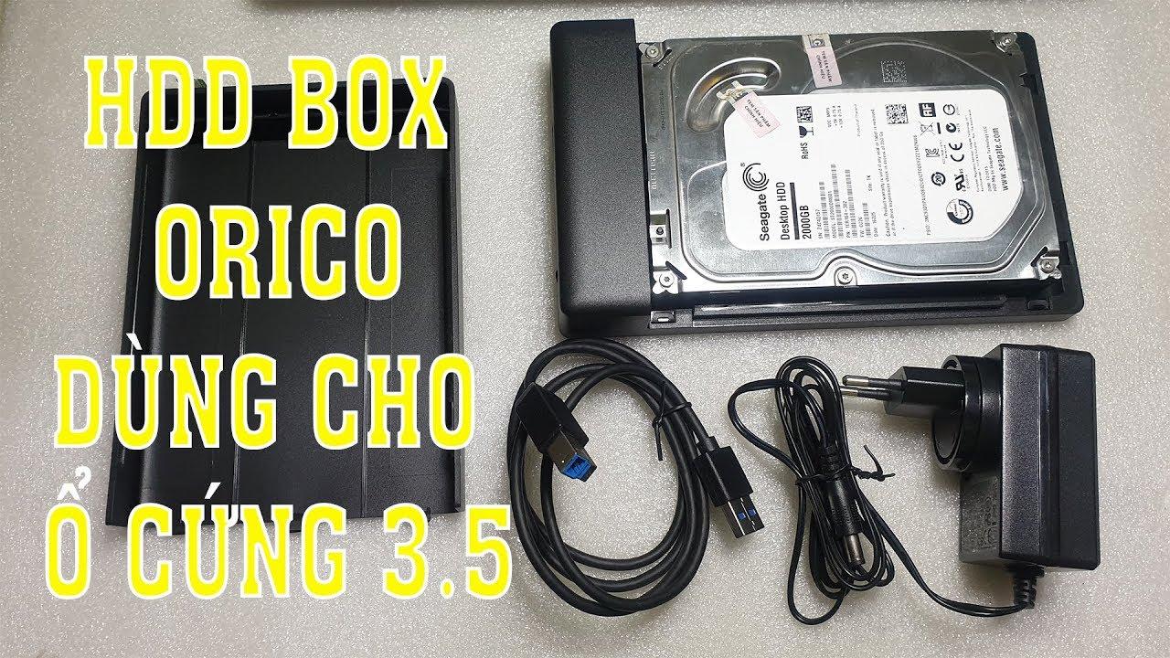 Mở hộp và hướng dẫn sử dụng HDD box đúng cách – Thiết bị cần thiết để làm youtube