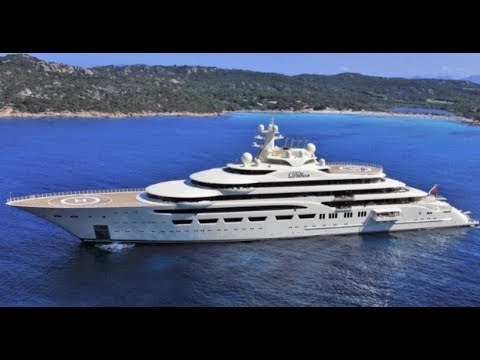 Superyacht Dilbar In Monaco