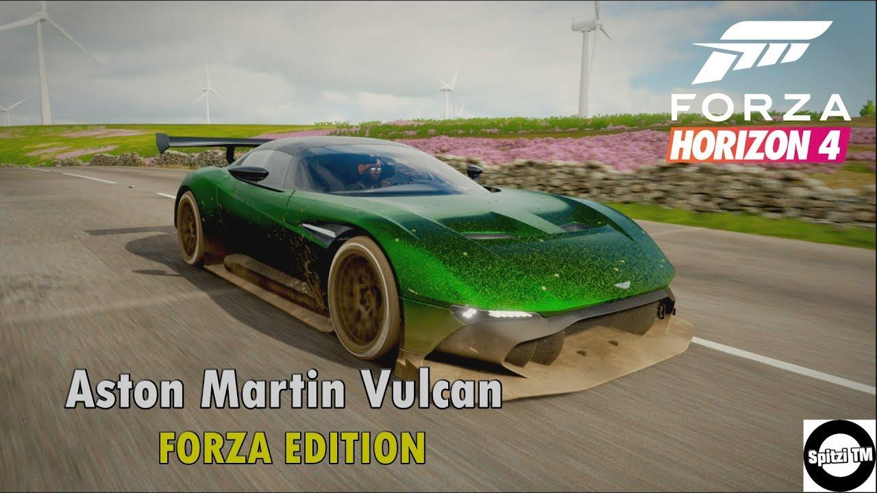 Forza Horizon 4 Aston Martin Vulcan Forza Edition Gameplay Youtube