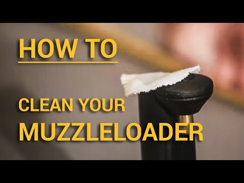 How to Clean Your CVA Muzzleloader 2016 Update