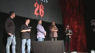 Greg Nicotero Q&A at Halloween Horror Nights 26 Universal Orlando