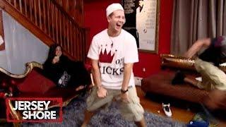 'Rap Battle' Official Throwback Clip | Jersey Shore | MTV