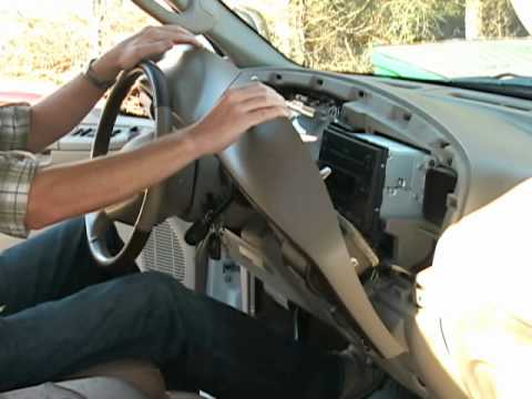 Headlight Switch Wiring 1995 F250 Ford Super Duty Instrument Cluster Repair Youtube