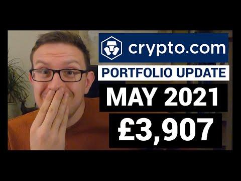 Crypto.Com Portfolio Update | May 2021 | Crypto UK