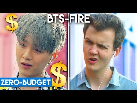 K-POP WITH ZERO BUDGET! (BTS-Fire & EXO-Ko Ko Bop)