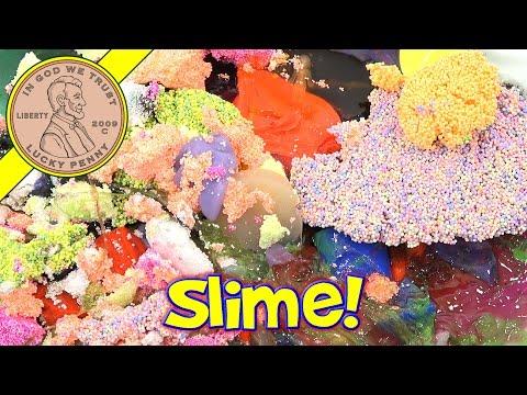Bin Day! 5 Years Of Slime, Putty, Goozerk, Floam, Play Foam!