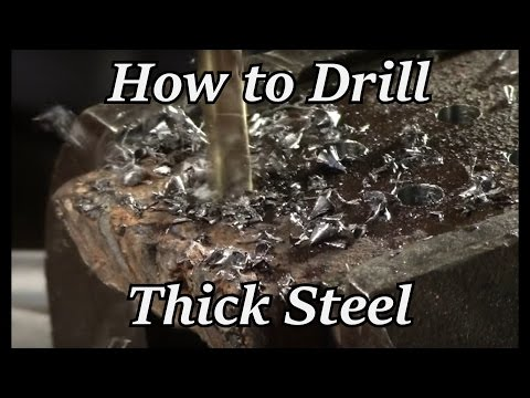 HTO - How to Drill Thick Steel | Iron Wolf Industrial