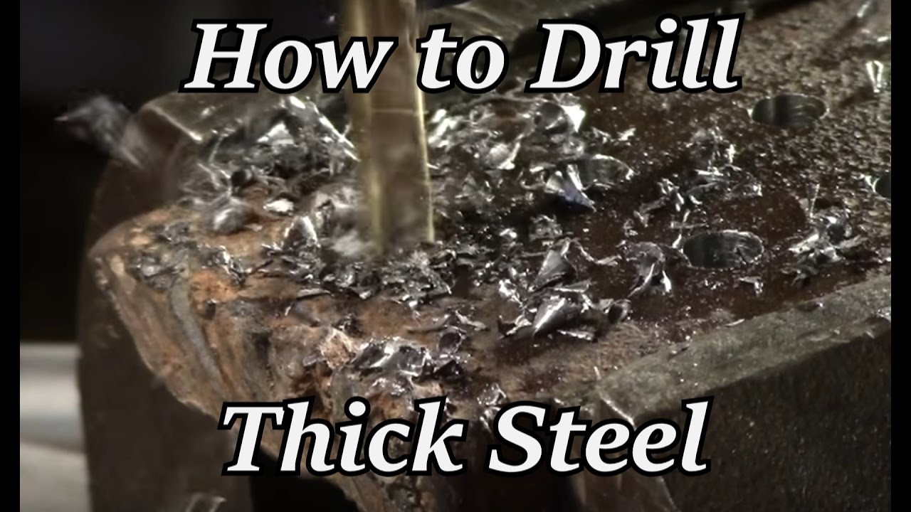 Hto How To Drill Thick Steel Iron Wolf Industrial