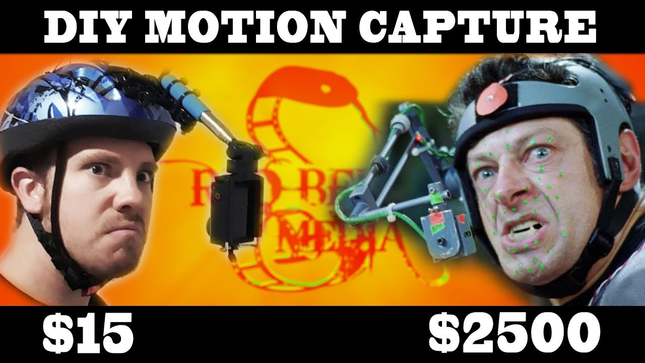 How To - DIY Facial Motion Capture Rig for $15