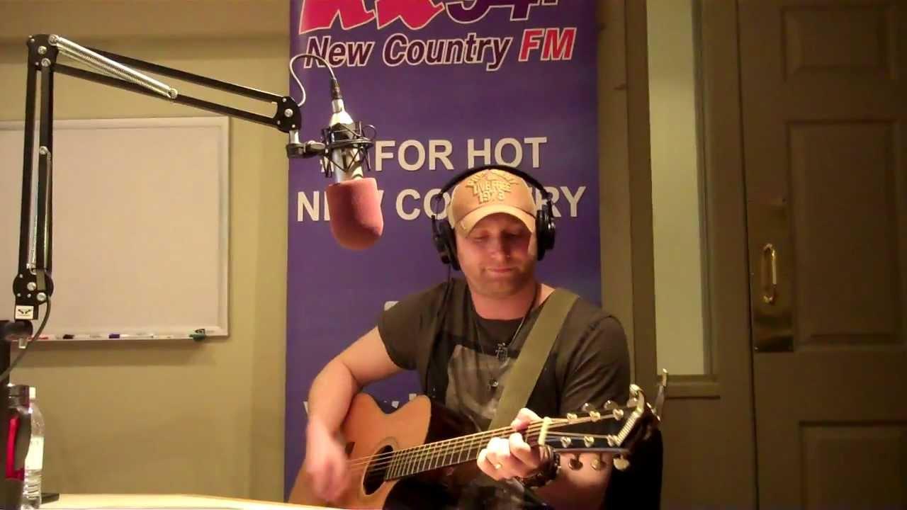 Live At Kx 94 7 Tim Hicks Stronger Beer Youtube