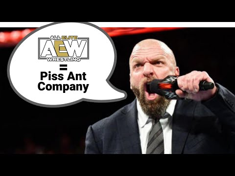 Every Time WWE Mentioned AEW on TV