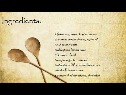Heavenly Clam Dip Recipe
