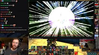 Asmongoldand39s Reaction To Full Force Shadow Priest 8.2