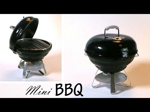 Miniature BBQ Grill Tutorial - Polymer Clay / Metal