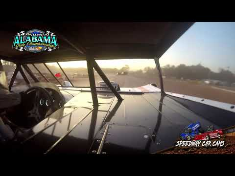 #92 Joseph Brown - NLMSCS - 9-22-19 East Alabama Motor Speedway - In-Car Camera