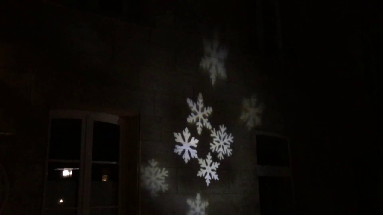 led laser projektor schneeflocke weihnachten xmas. Black Bedroom Furniture Sets. Home Design Ideas