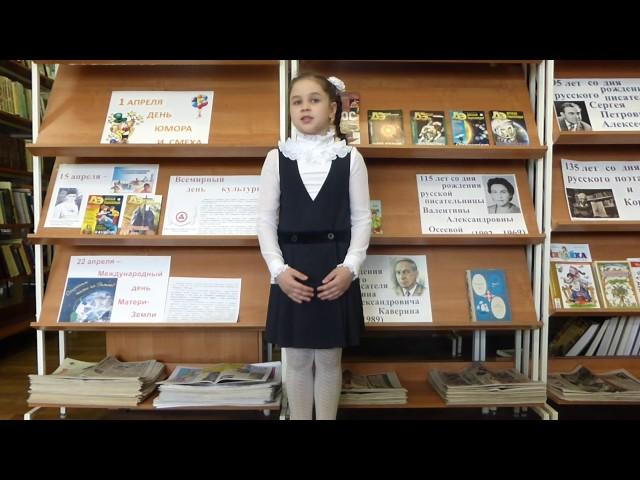 Изображение предпросмотра прочтения – ЕваБыкова читает произведение «22 июня» Т.Е.Лавровой