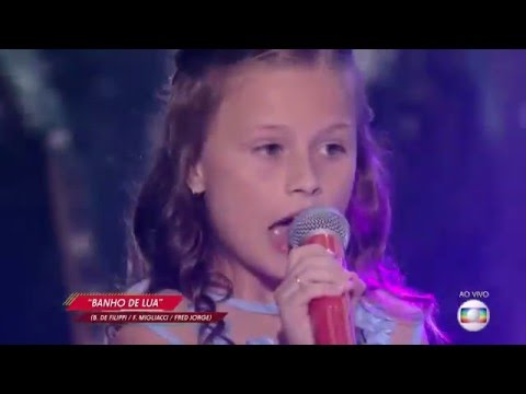 Rafa Gomes Canta 'Banho De Lua' No The Voice Kids - Semifinal | Temporada 1