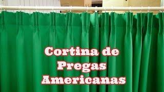 CORTINA DE PREGAS AMERICANAS