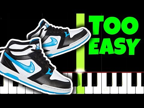 PUMPED UP KICKS, but it's TOO EASY, I bet 1.000 YOU CAN PLAY THIS!
