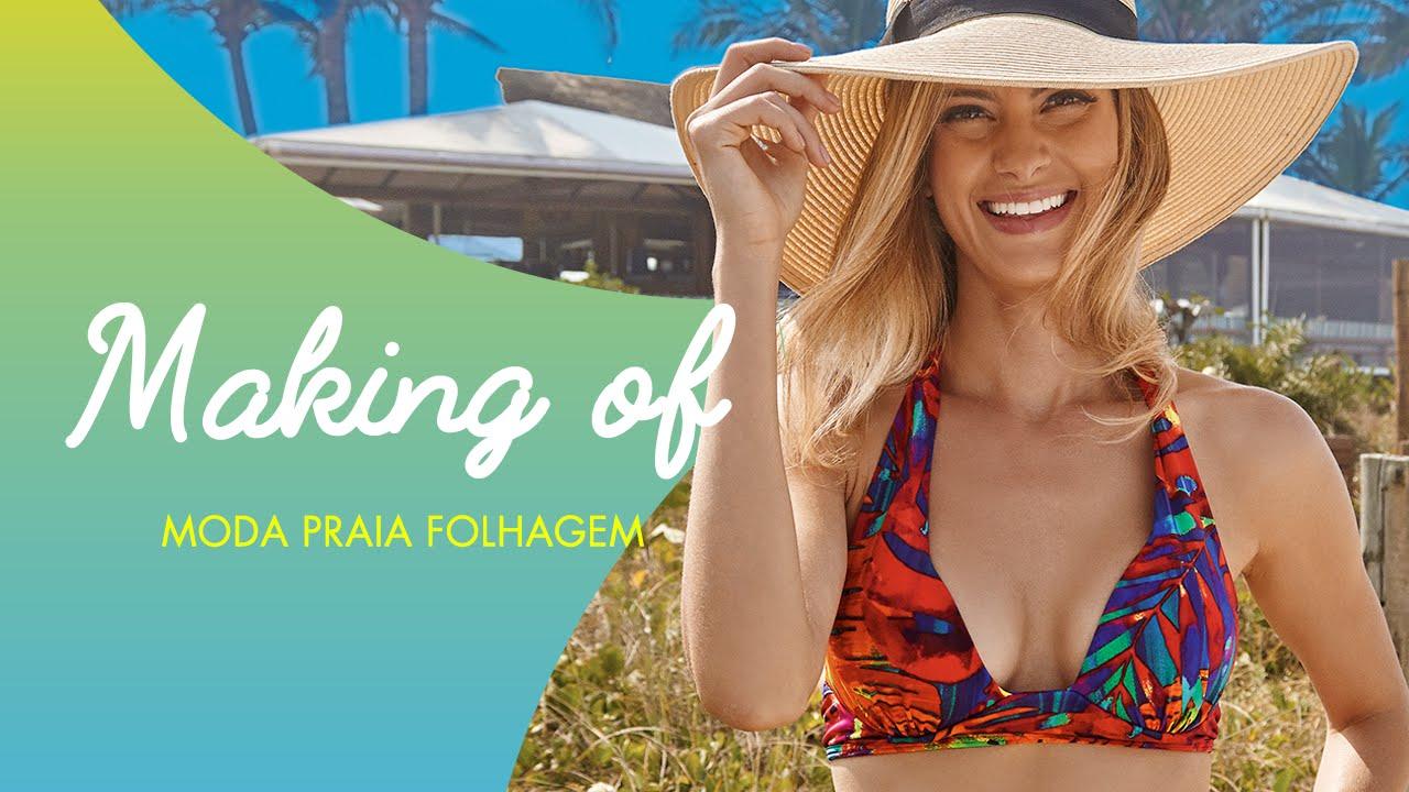 9d126124c DeMillus  making of Moda Praia Folhagem - YouTube