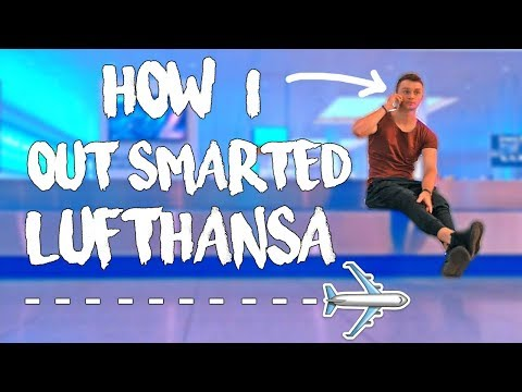 How I OUTSMARTED Lufthansa! *Travel Hack*  (Salzburg to Paris Travel Day)