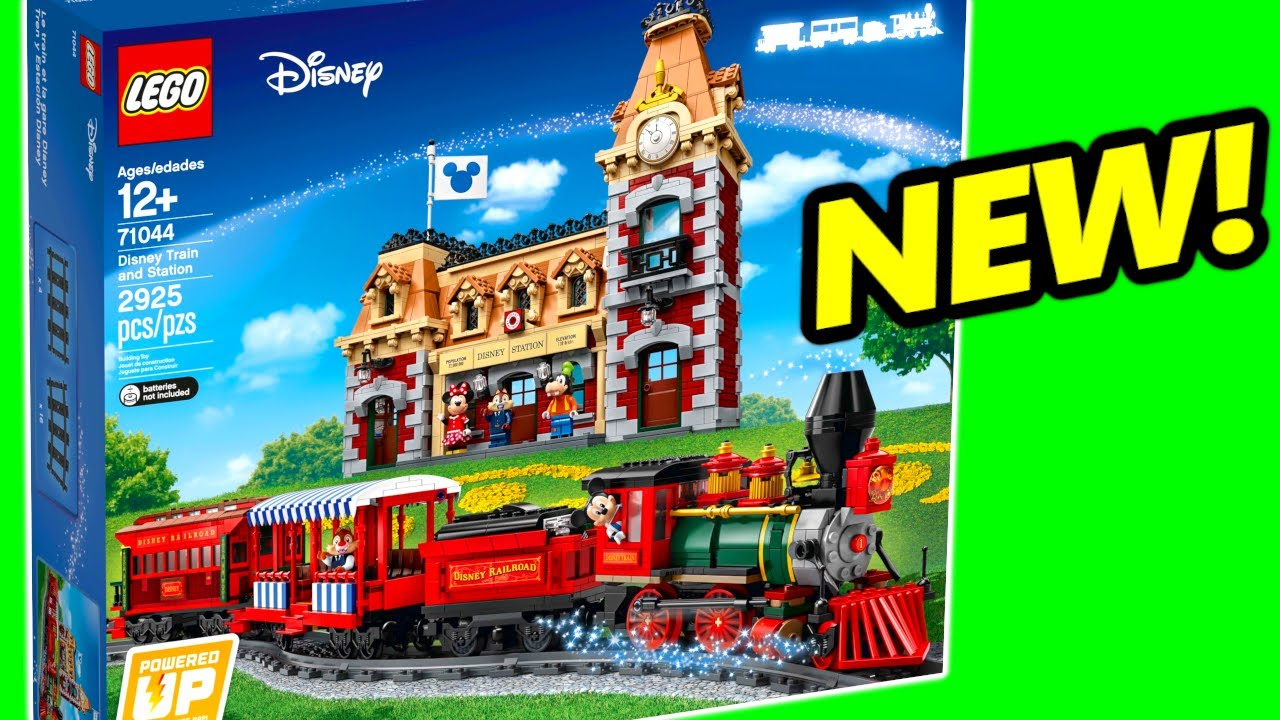 NEW LEGO Disney Train and Station 71044 Pictures Revealed