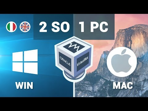 Installare MAC OS  su PC Windows con Virtual Box (OS X 10.7 Lion)